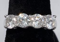Dazzling 2.21CTW Diamond Ring in 14KT Gold