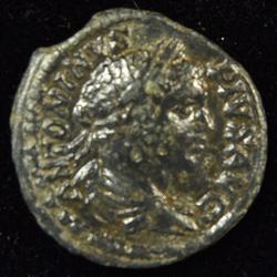 Sharp Caracalla Roman Silver Denarius, 198-217 AD