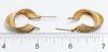14KT Swirl Gold Earrings