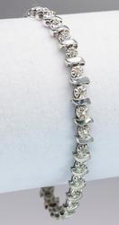 Cute Diamond Bracelet in 14KT White Gold
