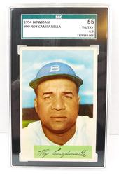 1954 Roy Campanella Bowman Baseball Card #90