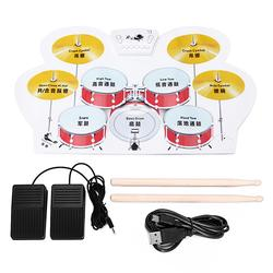 Electronic Drum Speakers Set Rollup Musical Pedals