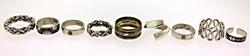 Vintage lot of Sterling Silver Rings