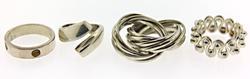Vintage Sterling Silver Lot of Rings