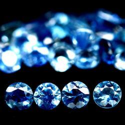 Gorgeous 2.54ct set of diamond cut Sapphires