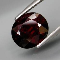 Decadent 4.99ct deep burgundy Spessartite Garnet