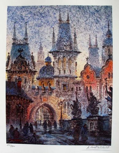 Anatole Krasnyansky TOWER OF KING KARL?S BRIDGE