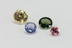 Natural Sri Lankan Sapphires - Set of 4