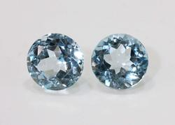 Bright & Beauiful Sky Blue Topaz Pair - 9.84 cts.