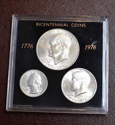 1976-S Silver BU Bicentennial Set in Holder