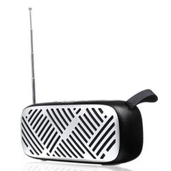 FM Radio Wireless bluetooth5.0 6W Stereo Speakers