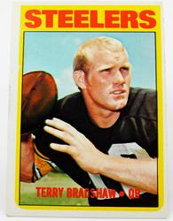 1972 Terry Bradshaw Topps #150 Football Card