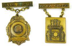 Vintage Sea Girt Medals, 1921 & 1923