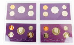 4 United States Mint Proof 5 Coin Sets