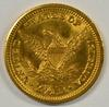 Exceptional Choice BU 1907 US $2.50 Liberty Gold Piece