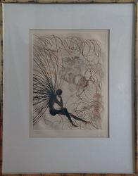 Dali Hand Signed Etching