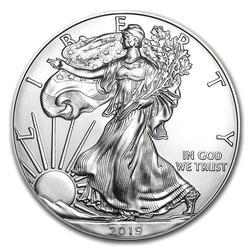 2019 1 oz Silver American Eagle Uncirculated