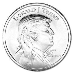 Donald Trump 1oz Silver Round