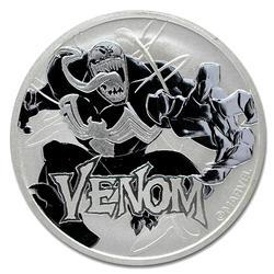 2020 Tuvalu 1oz Silver Marvel Series Venom