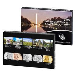 2019 US Mint Silver Proof Set