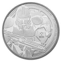 2019 1oz Niue Clone Trooper Star Wars Silver Coin