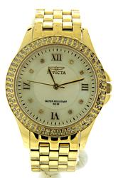 Invicta Gold Plated Watch