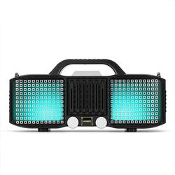 LED Light bluetooth 5.0 Speaker Super Bass with Mic