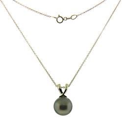 Gorgeous Tahitian Pearl Necklace in 14kt