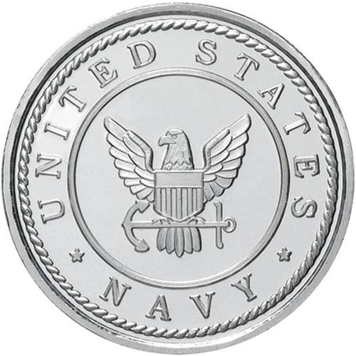 US Navy .999 Silver 1 oz Round