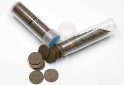 100 Assorted Indian Cents In Tubes