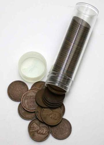 Choice Circulated Roll Of 1932 D Lincoln Cents