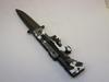 AK-47 Style Marine Camo Spring Assist Knife