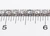 18KT 11.94 ctw Diamond Tennis Bracelet