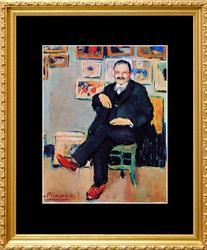 Pablo Picasso, Portrait of Gustave Coquiot
