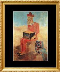 Pablo Picasso, The Organ-Grinder