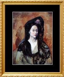 Pablo Picasso, Portrait Of Madame Canals