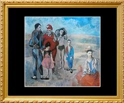Pablo Picasso, Family Of Saltimbaques