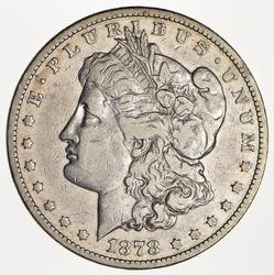 1878-S Morgan Silver Dollar - Circulated