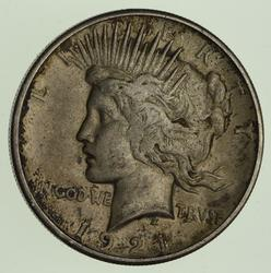 1921 Peace Silver Dollar - Circulated