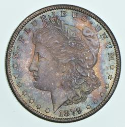 1879-S Morgan Silver Dollar - PL Toned