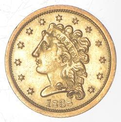 1838 $2.50 Classic Head Gold Quarter Eagle