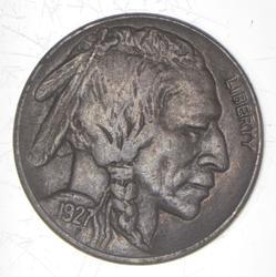 1927-S Indian Head Buffalo Nickel