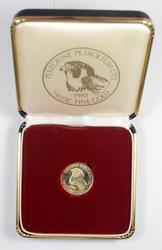1981 1/10 Oz. Fine Gold Peregrine Petroleum Ltd.