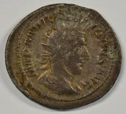Nice Roman Silver Antoninianus of Philip I, 244-249 AD