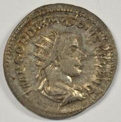 Nice Roman Silver Antoninianus Gordian III, 238-244 AD