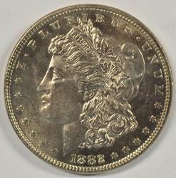 Nearly Gem BU 1882-P Morgan Silver Dollar
