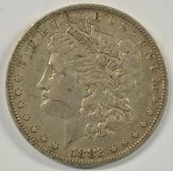 Scarce 1882-O/S Morgan Silver Dollar