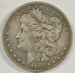Rare 1895-O Morgan Silver Dollar. King of the 'O' Mints