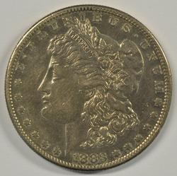 Flashy 1883-S Morgan Silver Dollar in AU