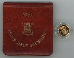 1980 Superb Gem Cameo Proof British Gold Half Sovereign